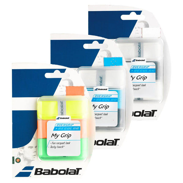 Babolat My Grip Tennis Overgrip 3 Pack