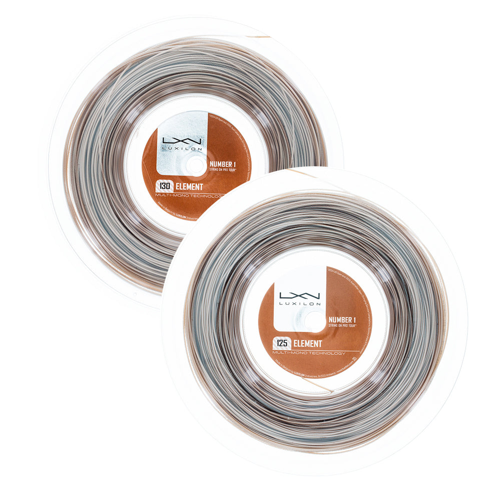 Luxilon Element Tennis String Reel Bronze