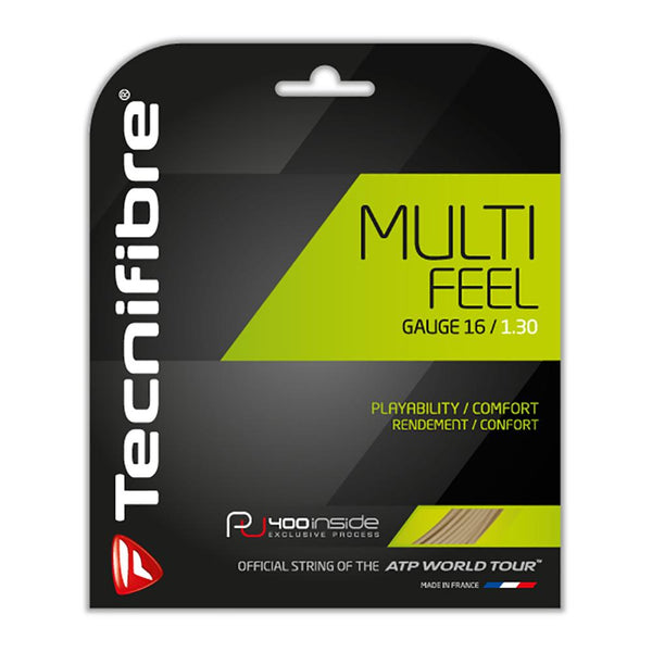 Tecnifibre Multi-Feel Tennis Strings Natural