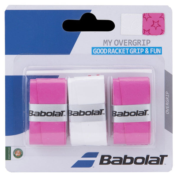 Babolat Overgrip My Grip Pink/white
