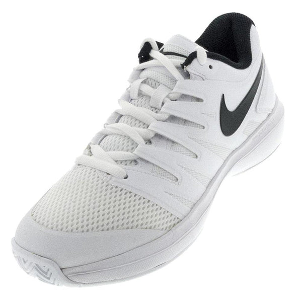 Nike Men's Air Zoom Prestige Tennis Shoes White and Black AA8020100