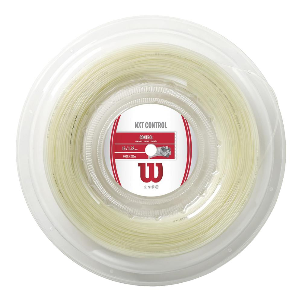 Wilson NXT Control 16G 200M Tennis String Reel Natural