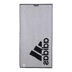 Adidas Small Tennis Towel Black and White