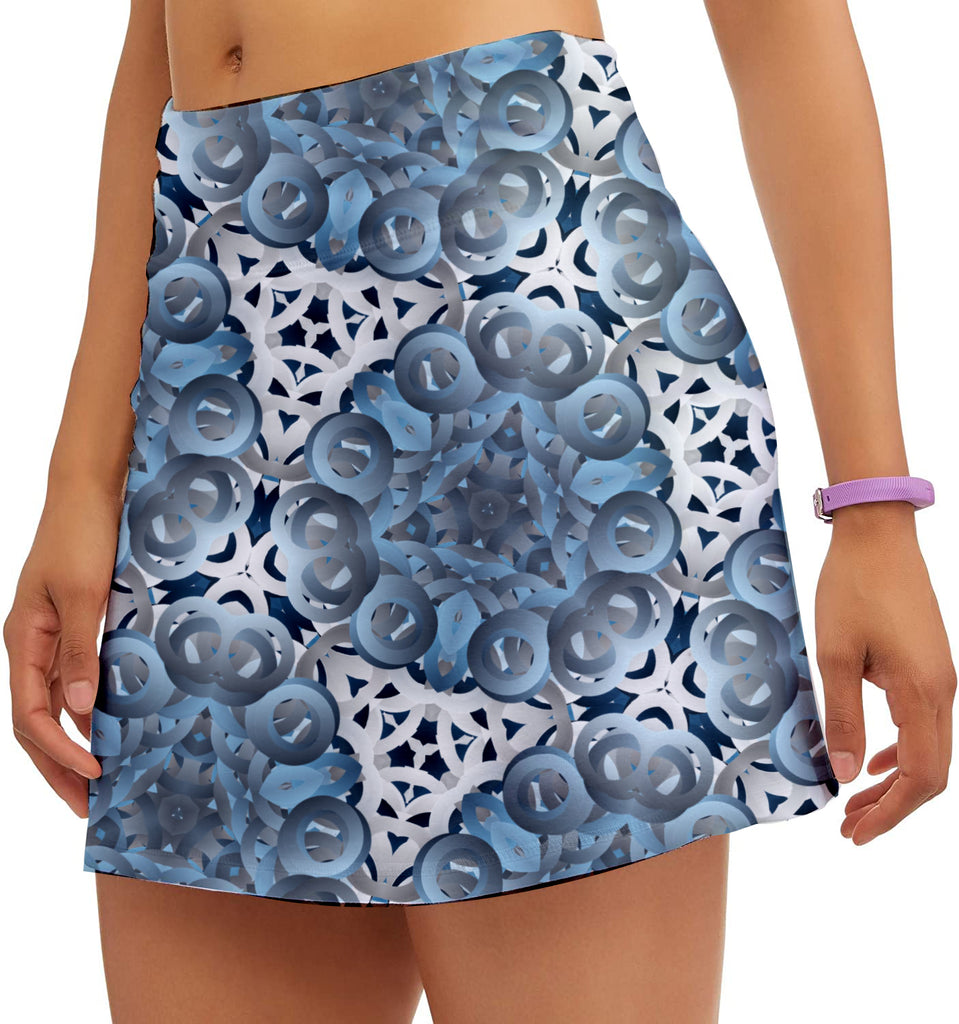 NU Ladies Blue Point Skort