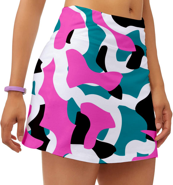 NU Ladies Camo Wow Skort JUNE 2020 COLLECTION