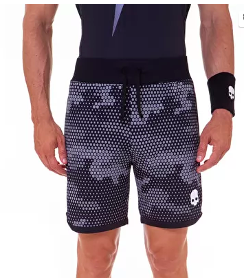 Hydrogen Tech Camo Shorts Men Reflex Black Camouflage