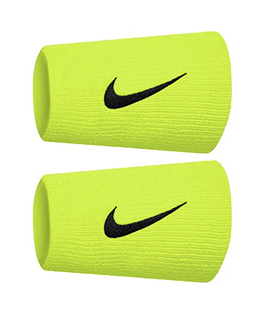 Nike Tennis Premier Double Lime Wristbands (2x) N0002466713OS