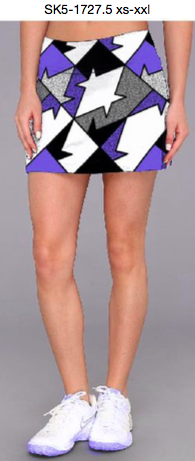 LADIES TENNIS SKIRT FUNKY SK5 - 1727.5 WITH 45 SPF SUN PROTECTION & SWEAT CONTROL (UP TO 31% OFF)