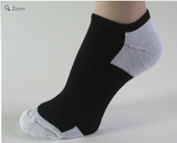 Black light gray no show athletic tennis socks breathable mesh with Sweat Stopping Power (Up to 29% Off)