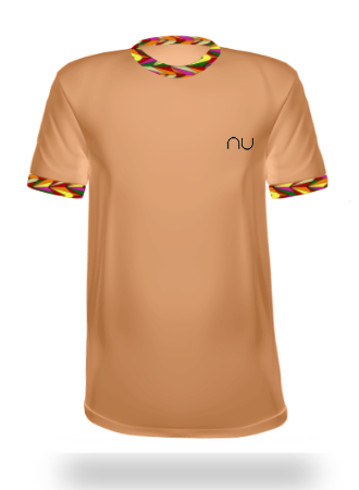 Double Fault Check Collar - nu Sportswear Designer Tennis Shirt