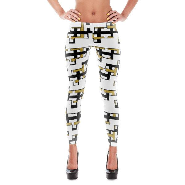 NU Tennis'  Funkiest Leggings For On and Off The Court Time to Shine