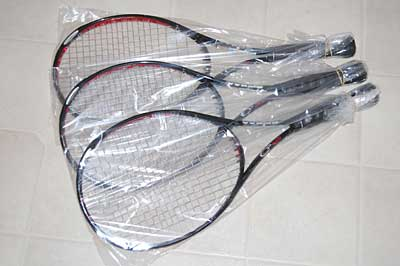 Plastic Racquet Bags (10-pack)