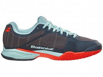 Babolat Women's Jet Team Clay Gray/ Red/ Blue 31S17688