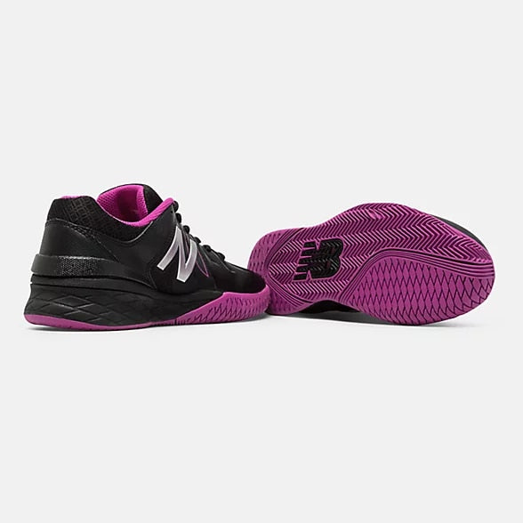 New Balance Women's Black with Pink Zing WC1006WR