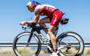 female triathlete ironman bike racer