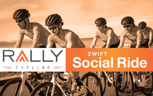 Here's Your Chance To Ride Virtually With Rally Cycling Pro Team Every Week