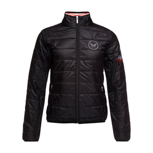 HYBRID DOWN JACKET W BLK