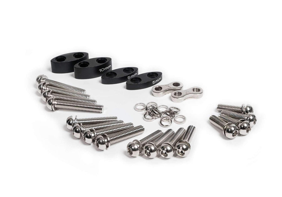 RISER KIT LOW - BAYONET 3 ALUMINUM
