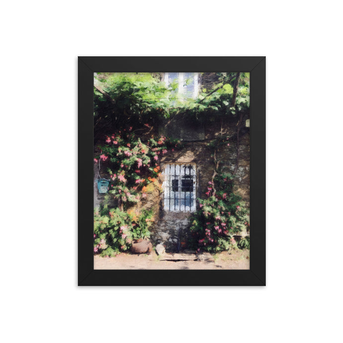 City Window Framed poster [Camino Collection]