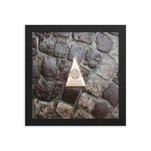 St. Jean Pied de Port Pathway Framed poster [Camino Collection]