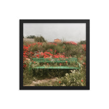 Load image into Gallery viewer, Camino Bench Framed poster [Camino Collection]