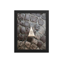 Load image into Gallery viewer, St. Jean Pied de Port Pathway Framed poster [Camino Collection]
