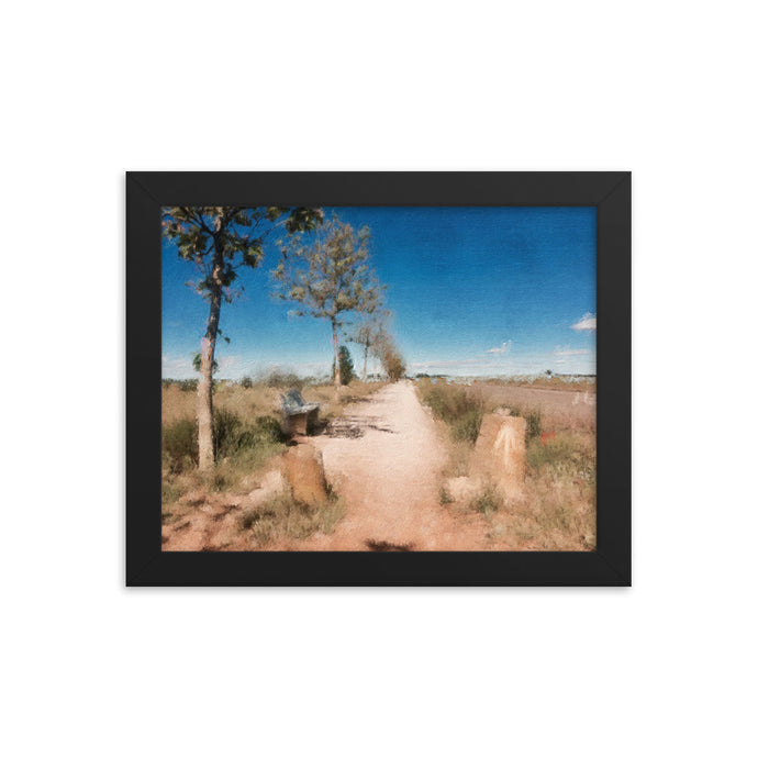 Camino Path Framed poster [Camino Collection]