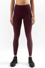 Sculpt Leggings Burgundy