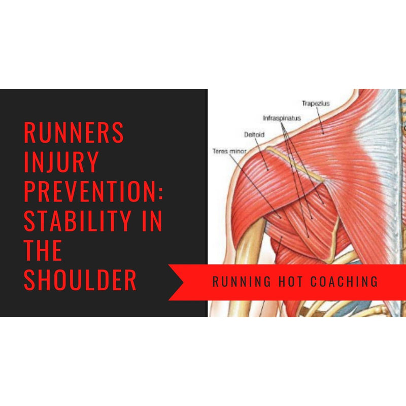 RUNNERS INJURY PREVENTION SERIES: STABILITY IN THE SHOULDERS.