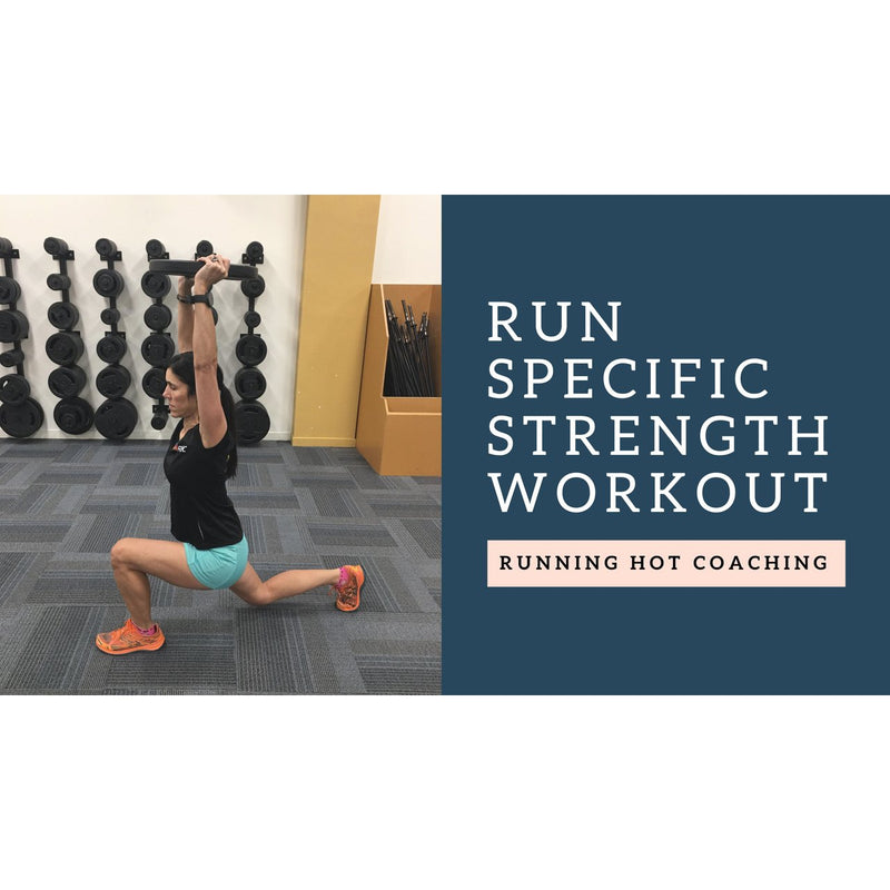 Sample Run Specific Strength Workout For Optimal Running Performance
