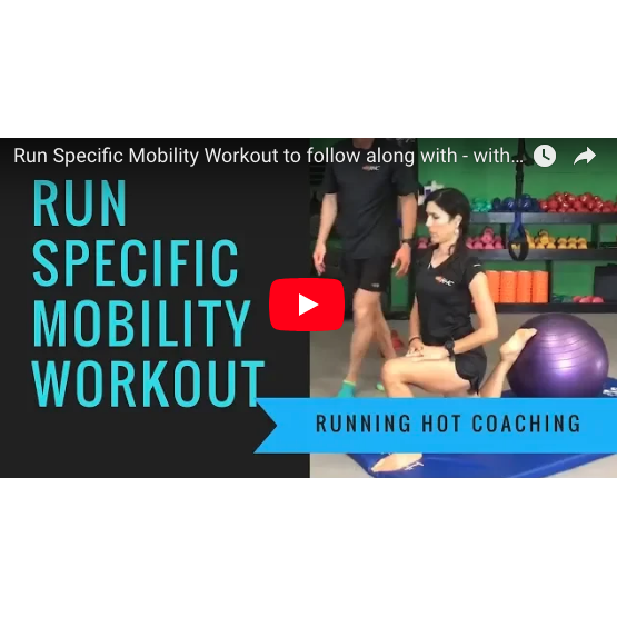 Run Specific Mobility Workout - Avoid injury, get full range of motion and speed up recovery