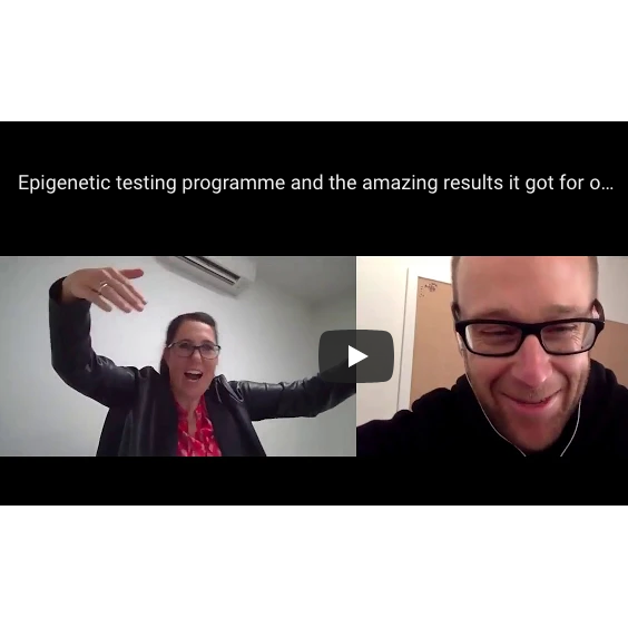 Epigenetic testing programme and the amazing results ultra Athlete Gus Benzie got