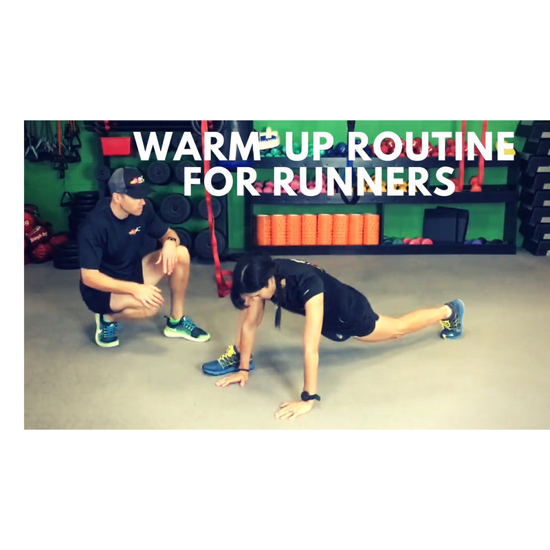 Warm Up Routine For Runners - Follow Along