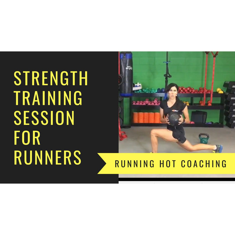Strength Training  for Runners - Sample Session to Follow Along To