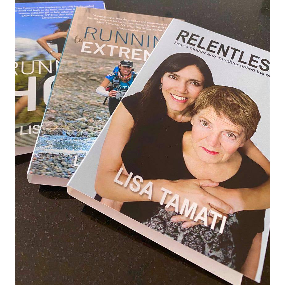 Book Bundle - Running Hot, Running to Extremes, Relentless
