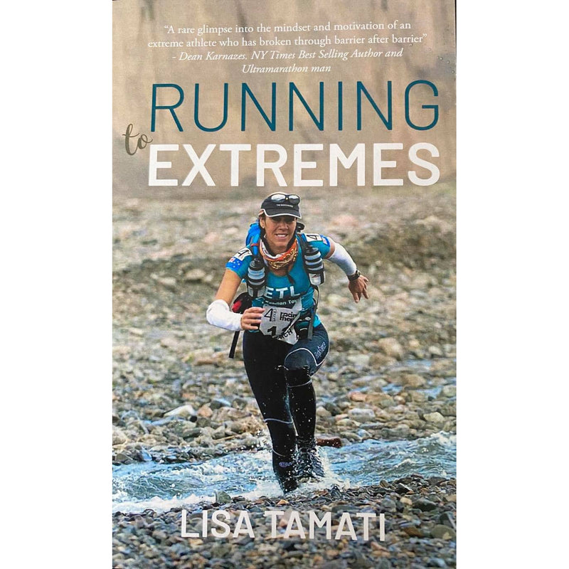 Lisa Tamati, ultramarathon, running, endurance athlete