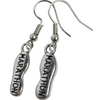 marathon earrings