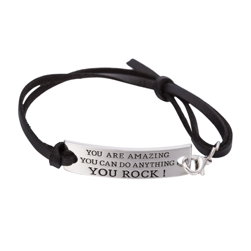 "Lisa Tamati ""You Are Amazing, You Can Do Anything, You Rock"" Bracelet"