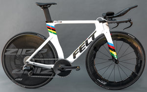 Gallery: Chloe Dygert's Rainbow-Themed World Champion Felt DA Time Trial Bike