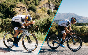 Which Is Faster? Triathlon Bike Versus Road Bike, With Pro Triathlete Braden Currie