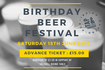 Birthday Beer Festival Advance Ticket