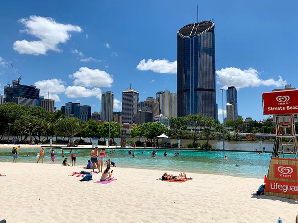 brisbane southbank streets beach