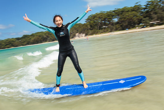 South Coast Learn to Surf Weekend Camp