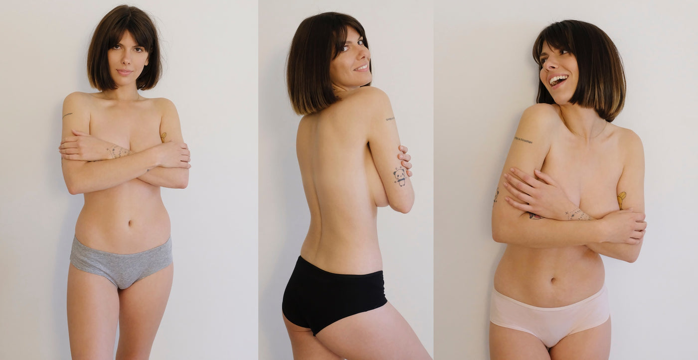 organic cotton briefs, eco lingerie, sustainable lingerie