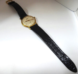 Vintage 18CT GOLD Vulcain Manual Wind Swiss Wrist Watch