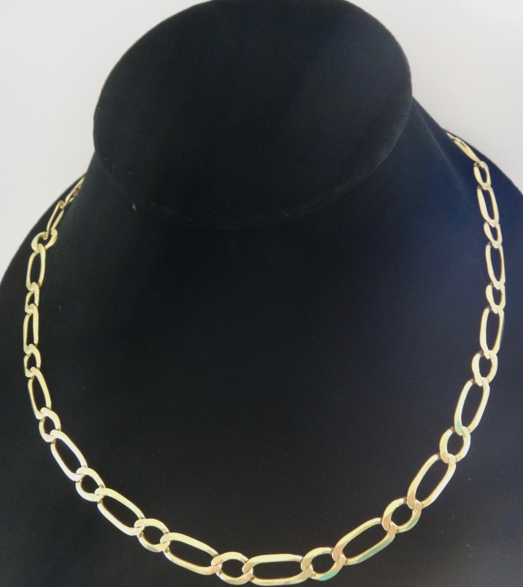 Heavy 9CT Yellow GOLD Chain Necklace