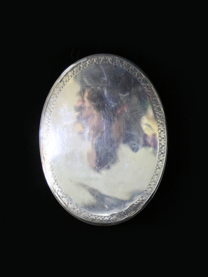 George I Sterling Silver Snuff Box c.1720