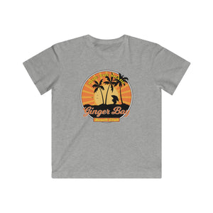 Ride The Shade - Ginger Bay Beach Club DESIGN ON FRONT- Kids Fine Jersey Tee
