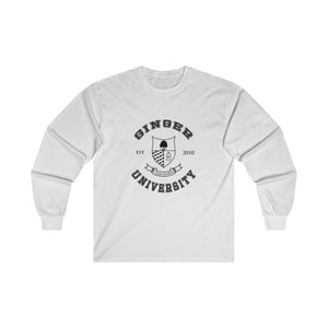 Ginger University - Unisex Cotton Long Sleeve Tee