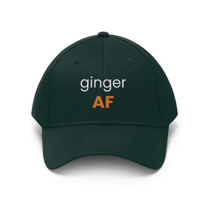 Ginger AF - Embroidered Twill Hat